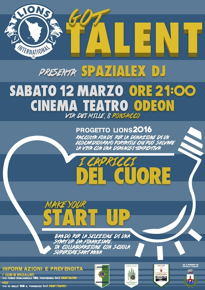 locandina Lions Got Talent